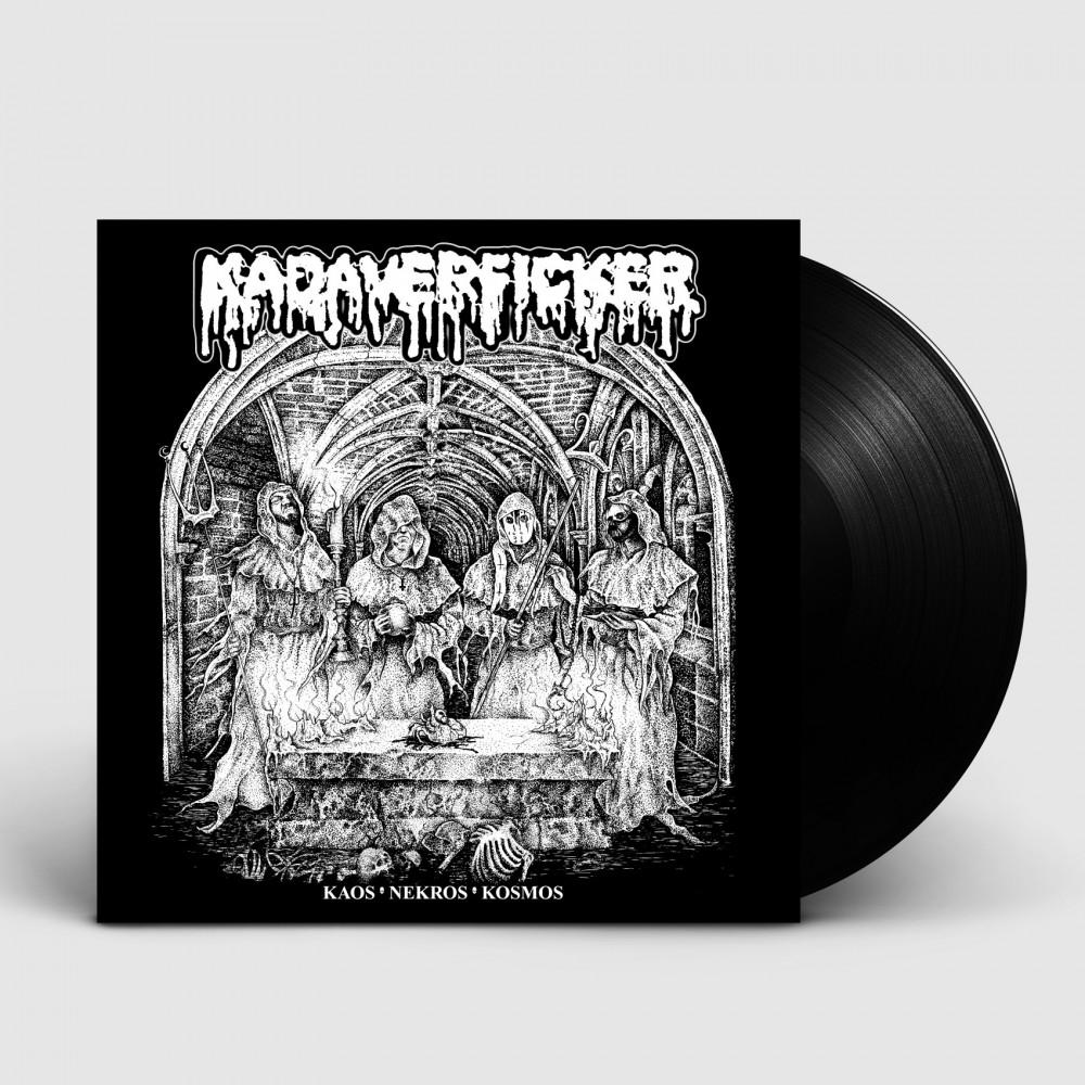 KADAVERFICKER - Kaos Nekros Kosmos [BLACK] (LP)