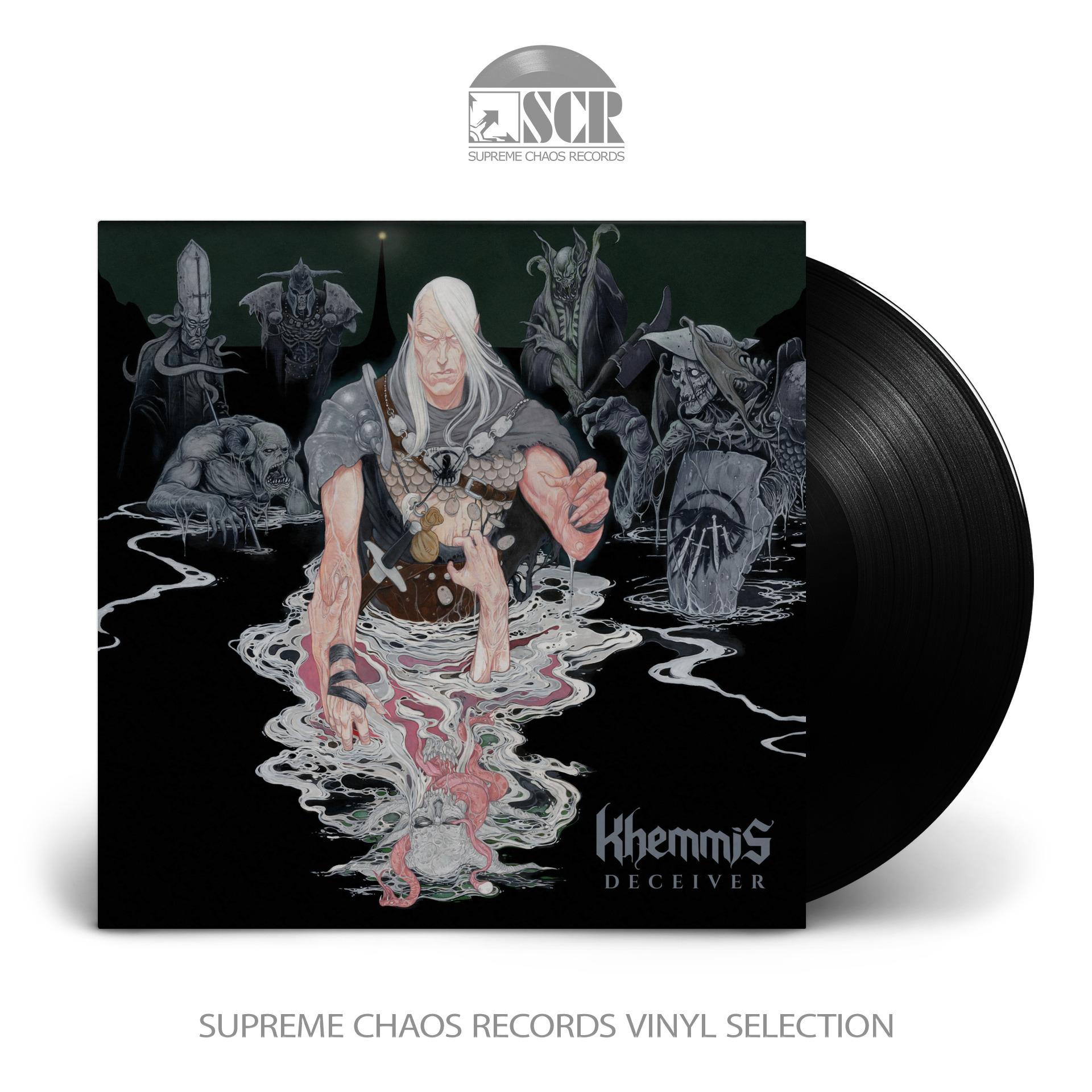 KHEMMIS - Deceiver [BLACK] (LP)