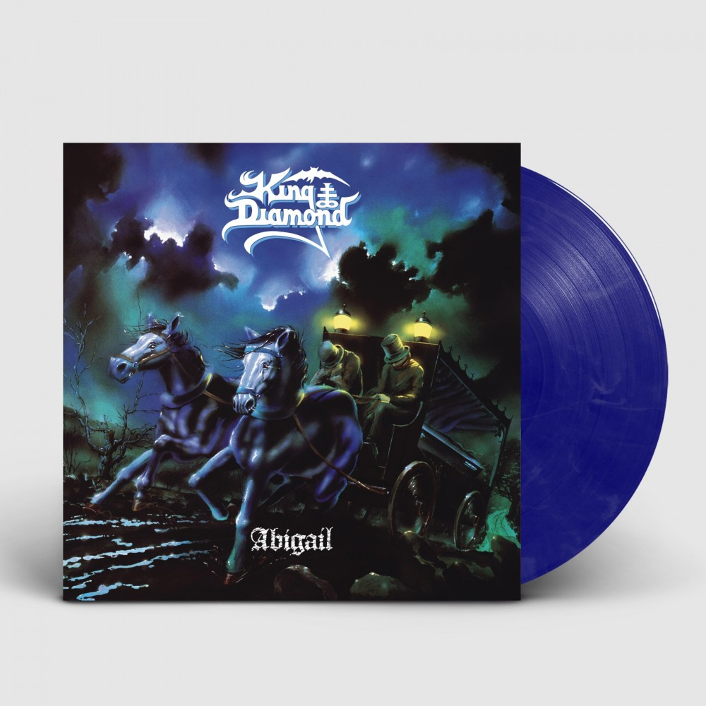 KING DIAMOND - Abigail [BLUE/WHITE] (LP)