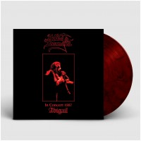 KING DIAMOND - In Concert 1987 - Abigail [RED/BLACK] (LP)