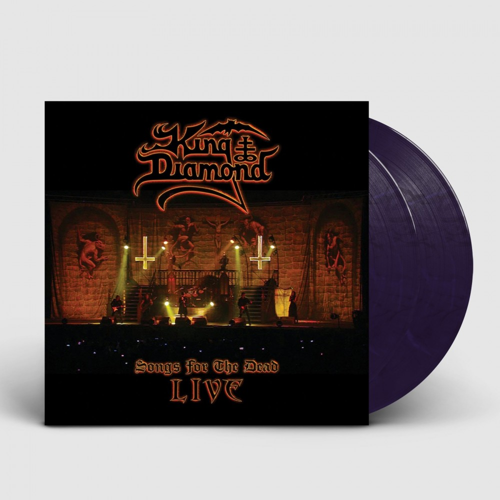KING DIAMOND - Songs For The Dead Live [PINK/BLUE] (DLP)