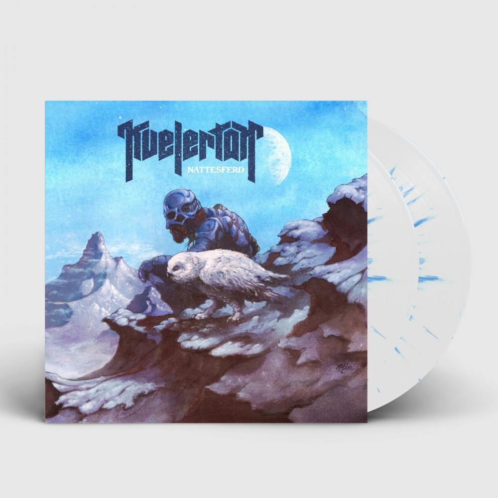 KVELERTAK - Nattesferd [WHITE/BLUE] (DLP)