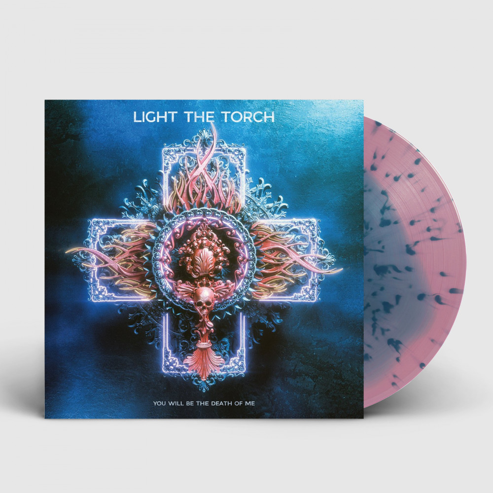 LIGHT THE TORCH - You will be the death of me [BLUE/PINK] (LP)