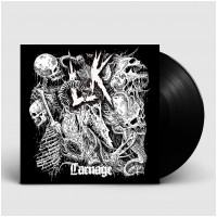 LIK - Carnage [BLACK] (LP)