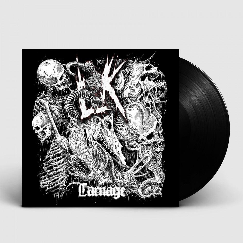 LIK - Carnage [BLACK] (LP)
