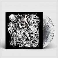 LIK - Carnage [WHITE/BLACK] (LP)