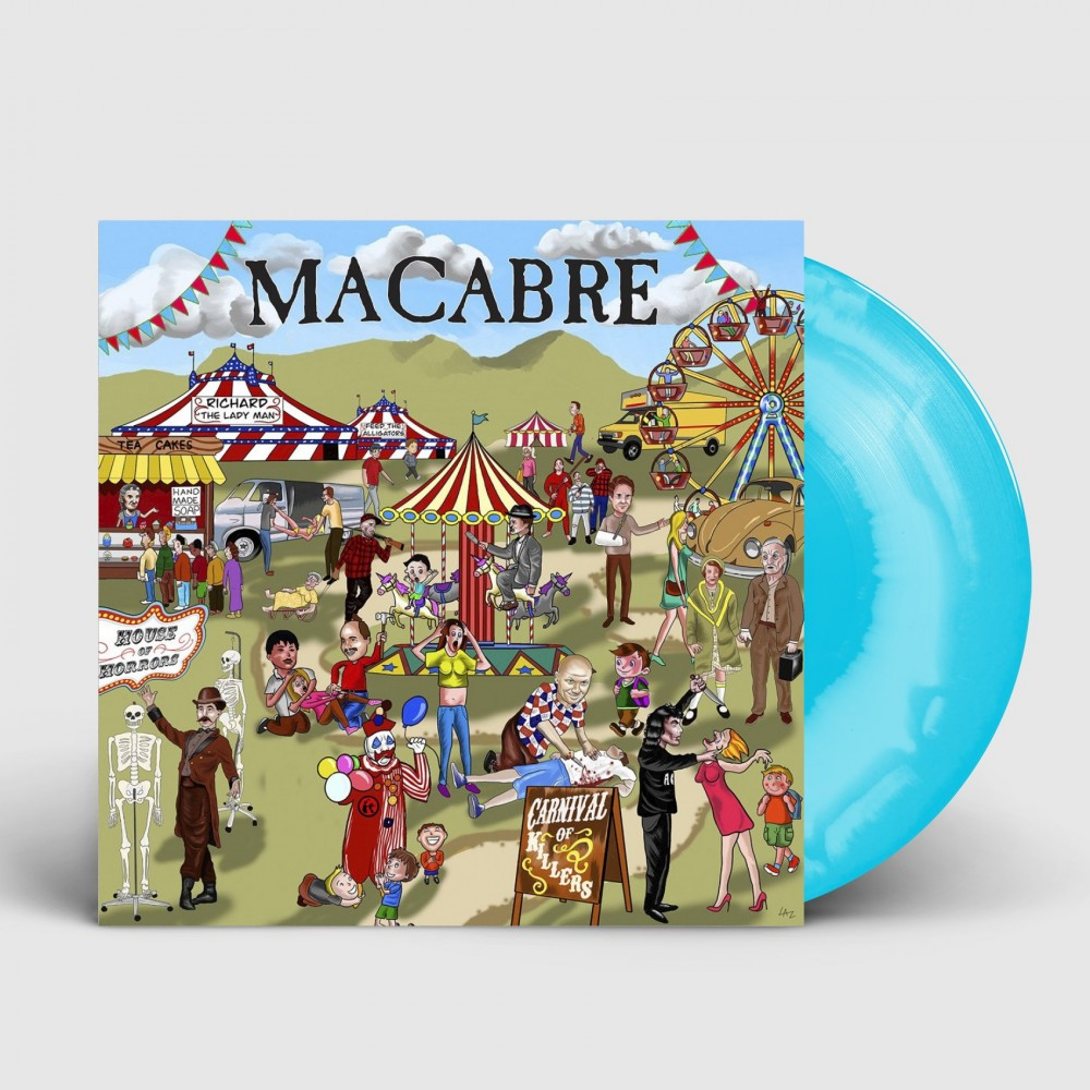 MACABRE - Carnival of killers [STRANGLED SKY] (LP)