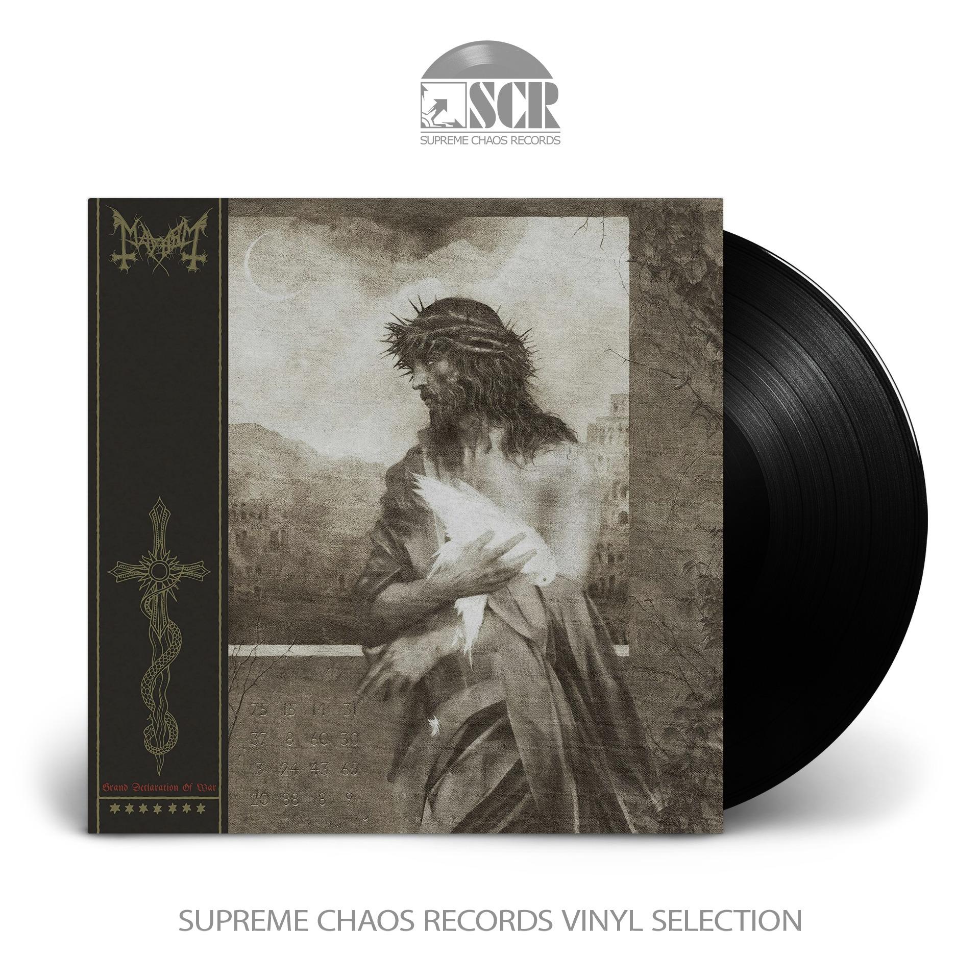 MAYHEM - Grand Declaration Of War (Remix 2018) [BLACK] (LP)