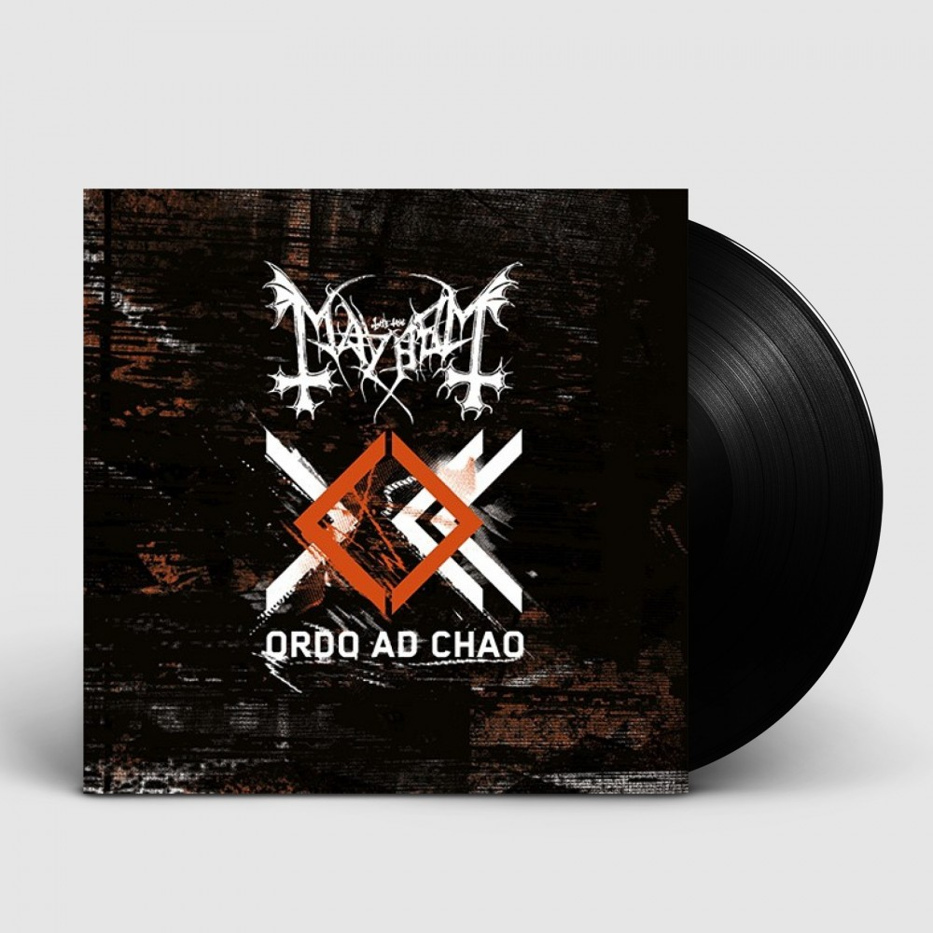 MAYHEM - Ordo Ad Chao [BLACK] (LP)