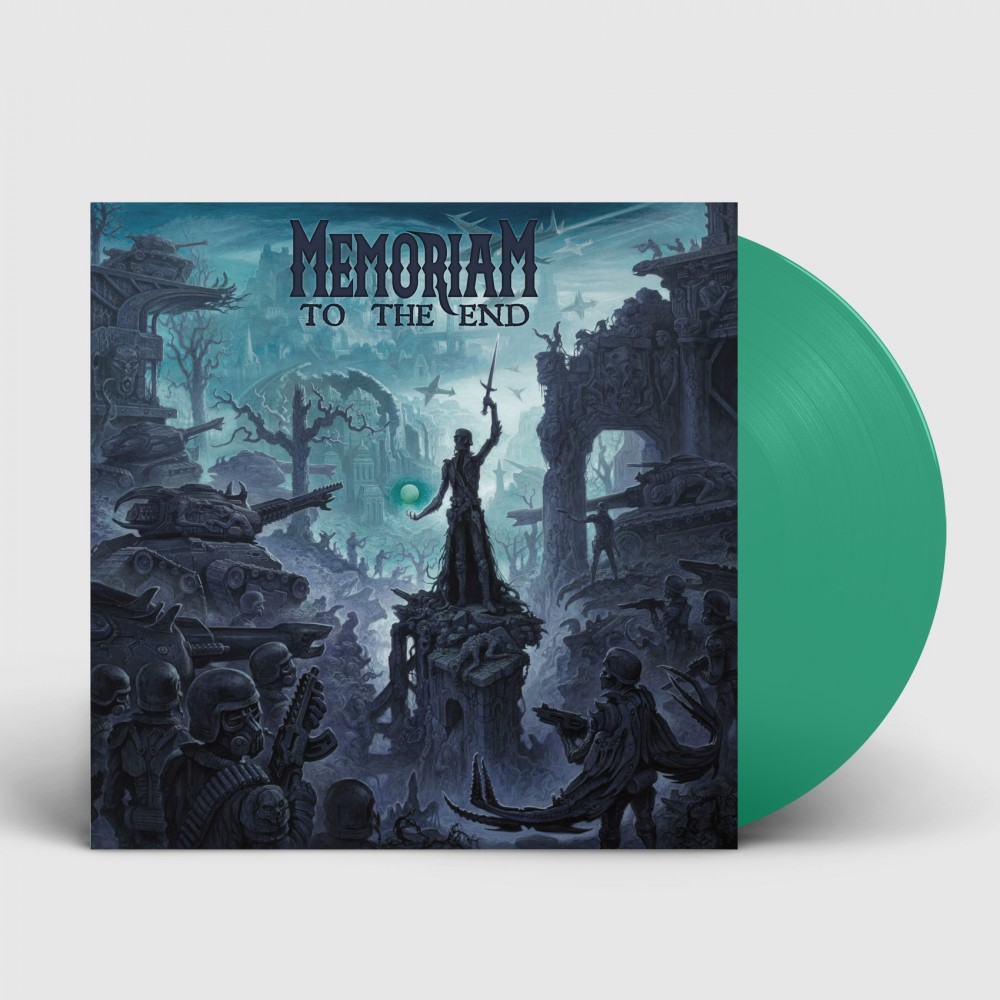 MEMORIAM - To The End [TEAL GREEN] (LP)