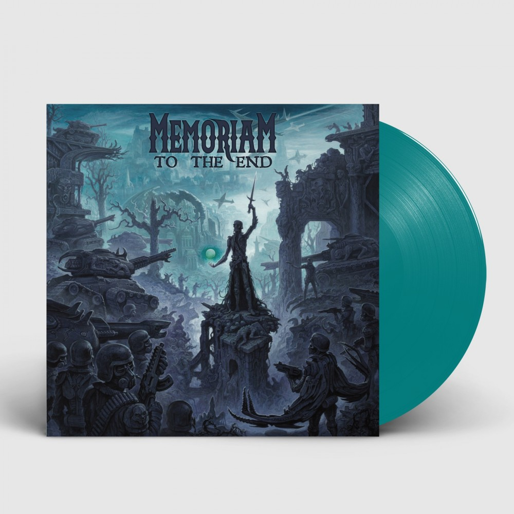 MEMORIAM - To The End [TURQUOISE] (LP)