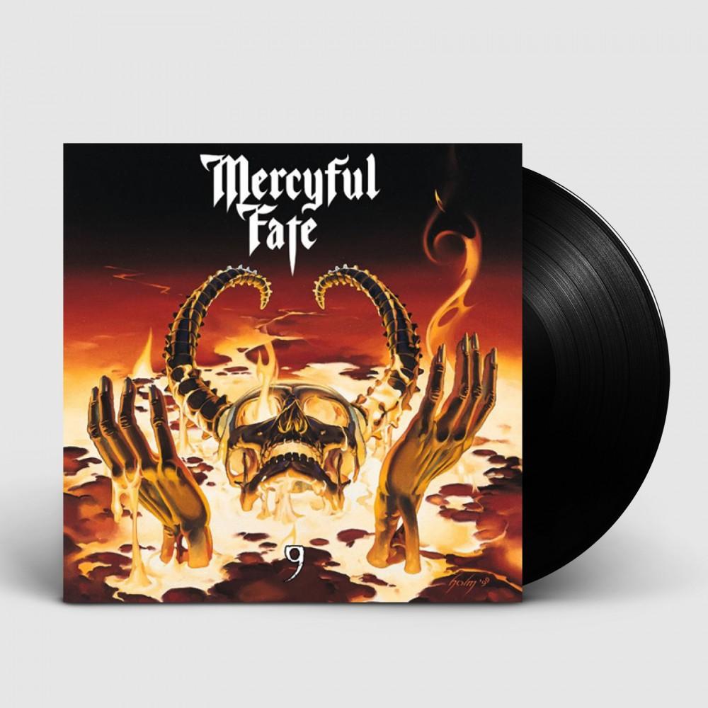 MERCYFUL FATE - 9 [BLACK] (LP)