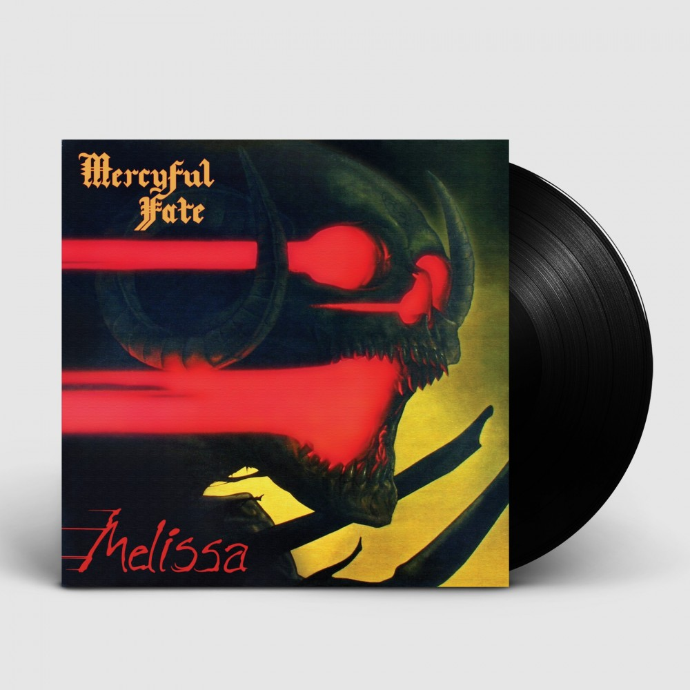 MERCYFUL FATE - Melissa [BLACK] (LP)
