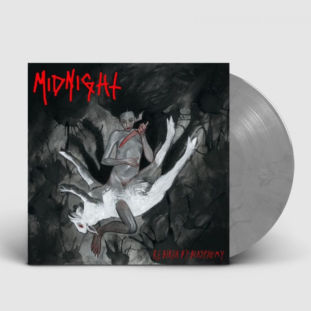 MIDNIGHT - Rebirth By Blasphemy [GREY] (LP)