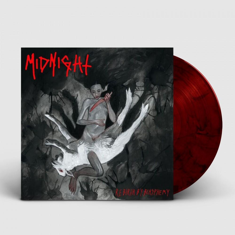 MIDNIGHT - Rebirth By Blasphemy [RED/BLACK] (LP)
