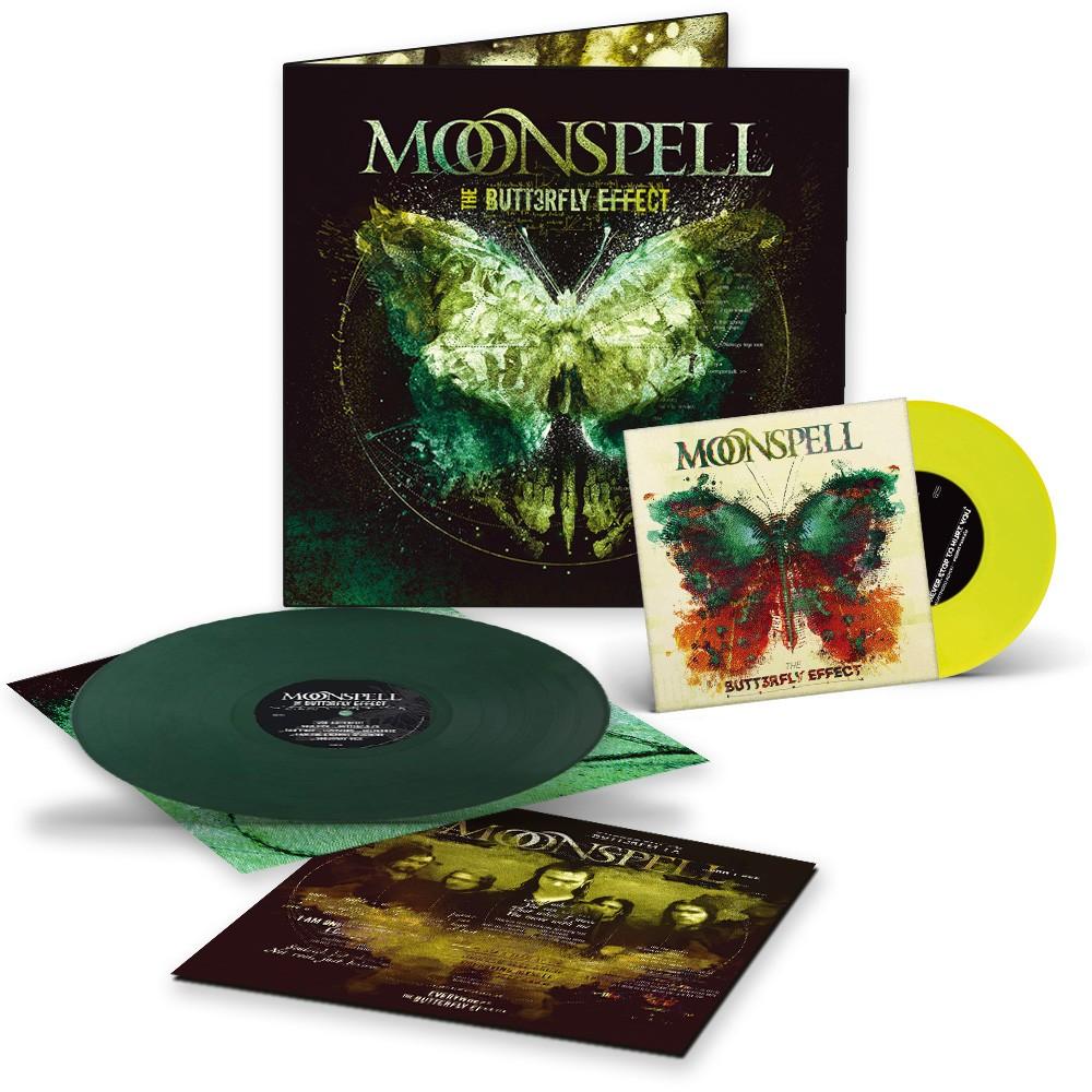 """MOONSPELL - The Butterfly Effect [GREEN LP+YELLOW 7""""] (DLP)"""