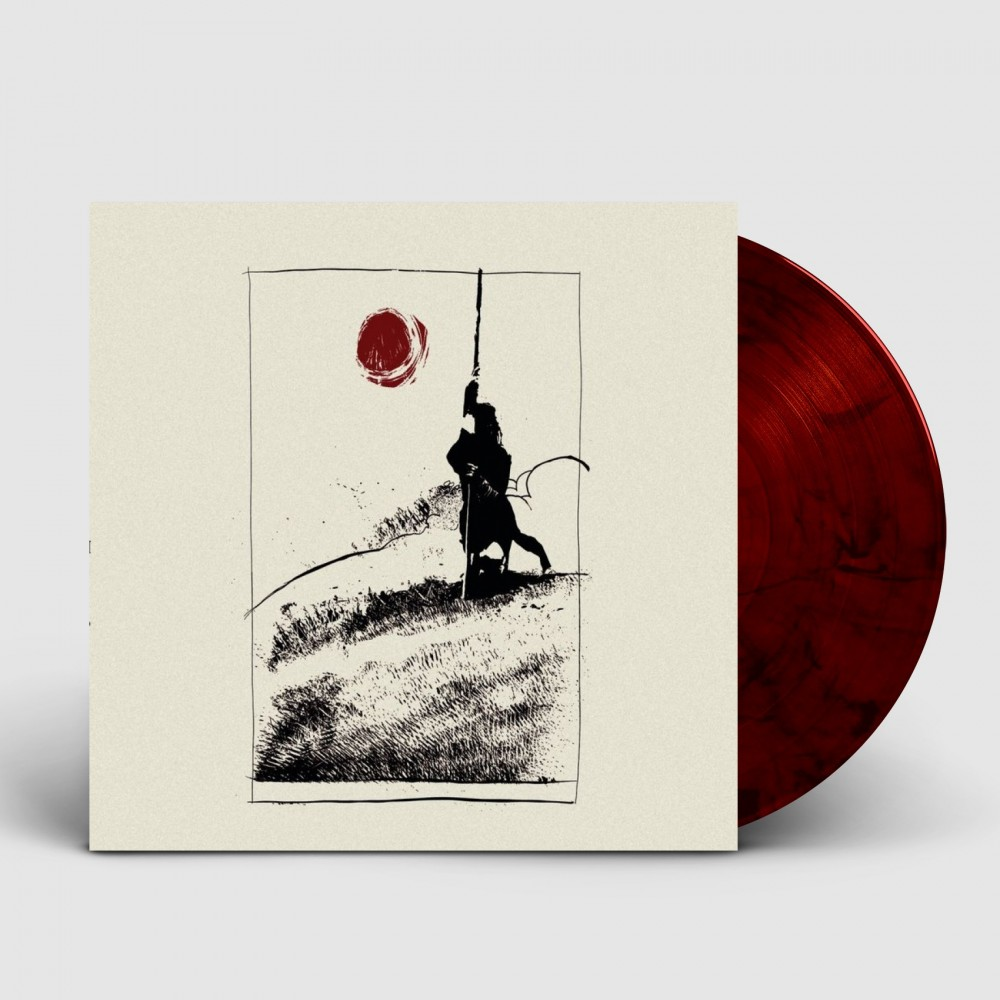 """MOURNING BELOVETH / THE RUINS OF BEVERAST - Don't Walk On The Mass Graves [RED 10""""] (MLP)"""