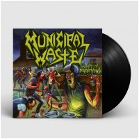 MUNICIPAL WASTE - The last rager [BLACK] (MLP)