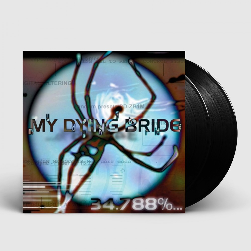MY DYING BRIDE - 34.788% Complete [BLACK] (DLP)
