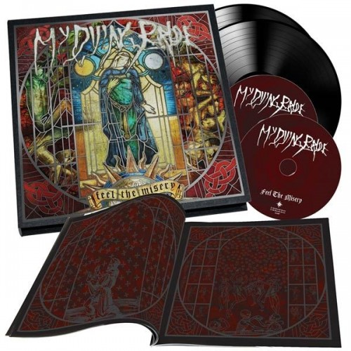 """MY DYING BRIDE - Feel The Misery [Deluxe Earbook 2x10""""+2-CD+Book] (BOXLP)"""