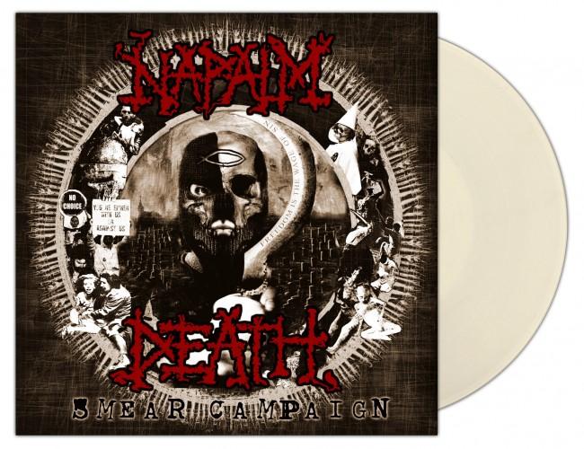 NAPALM DEATH - Smear Campaign [CLEAR] (LP)