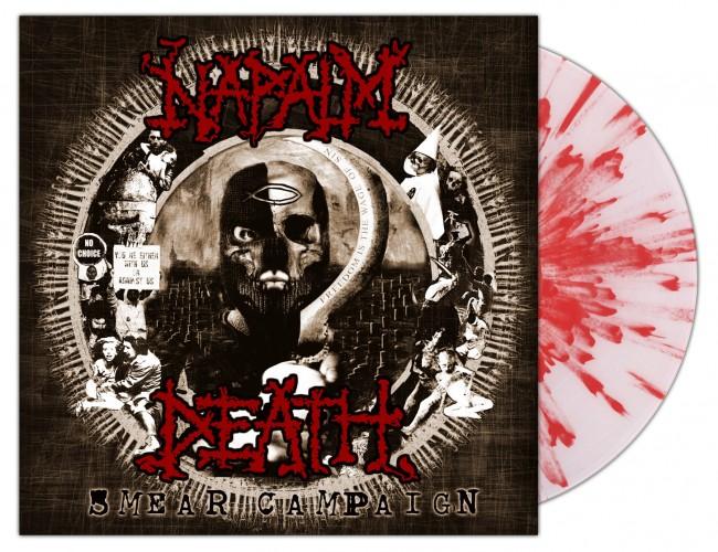 NAPALM DEATH - Smear Campaign [EMP WHITE SPLATTER] (LP)