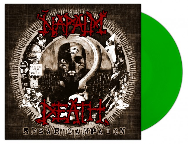 NAPALM DEATH - Smear Campaign [NB GREEN] (LP)