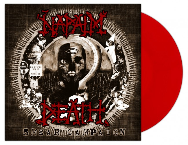 NAPALM DEATH - Smear Campaign [RED] (LP)
