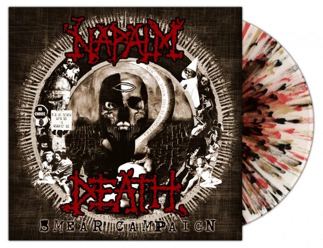 NAPALM DEATH - Smear Campaign [SCR SPLATTER] (LP)