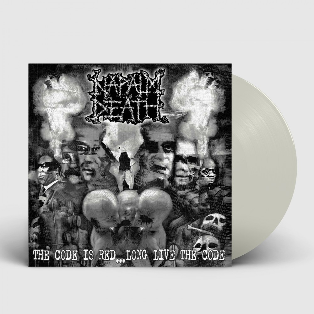 NAPALM DEATH - The Code Is Red... Long Live The Code [CLEAR] (LP)