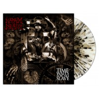 NAPALM DEATH - Time Waits For No Slave [EMP WHITE SPLATTER] (LP)