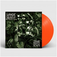 NAPALM DEATH - Time Waits For No Slave [NEON ORANGE] (LP)