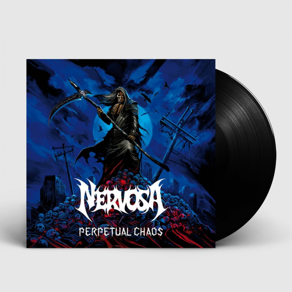NERVOSA - Perpetual Chaos [BLACK] (LP)