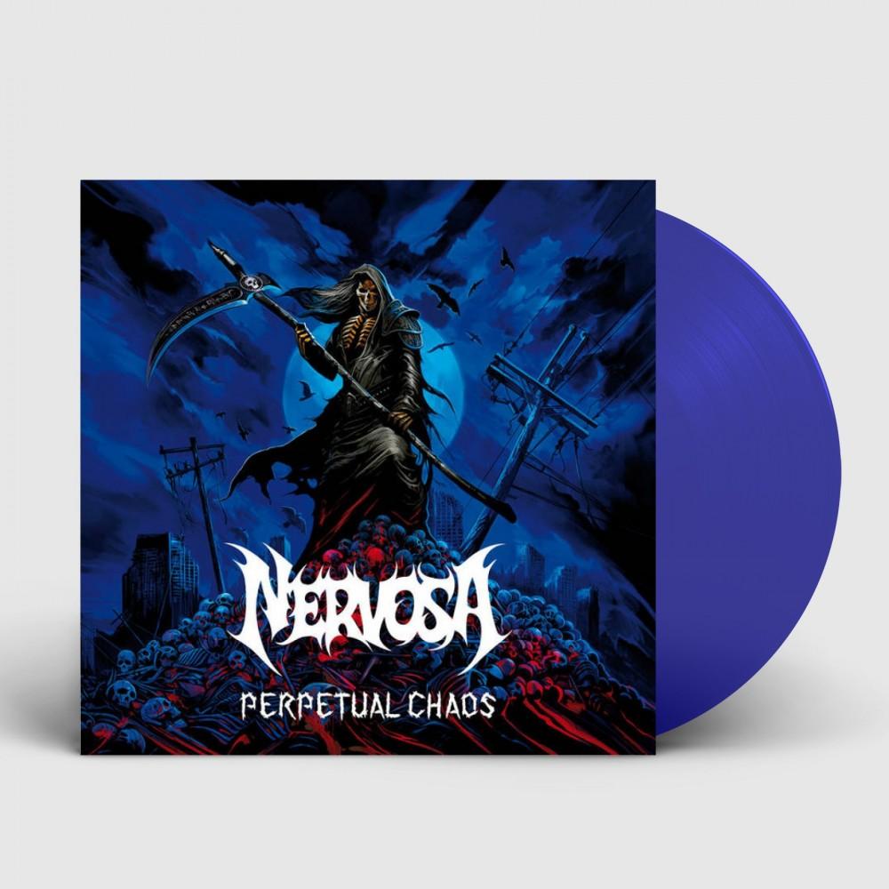 NERVOSA - Perpetual Chaos [BLUE] (LP)