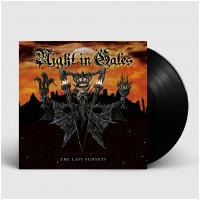 NIGHT IN GALES - The Last Sunsets [BLACK] (LP)