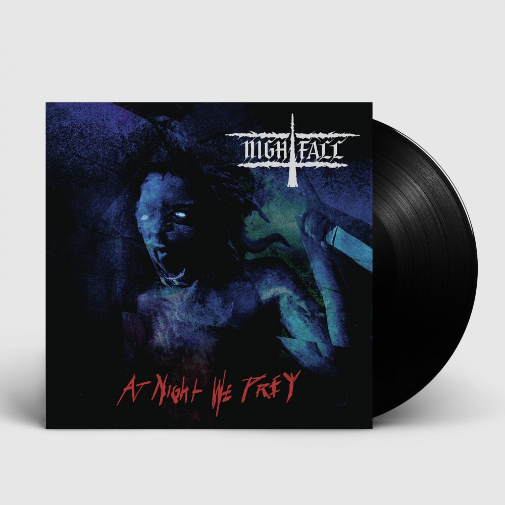 NIGHTFALL - At Night We Prey [BLACK] (LP)