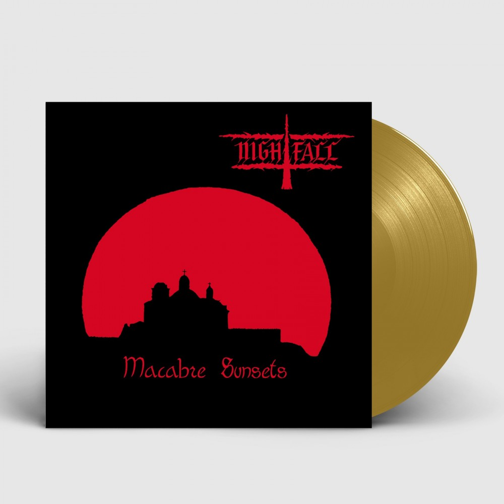 NIGHTFALL - Macabre Sunset [GOLD] (LP)