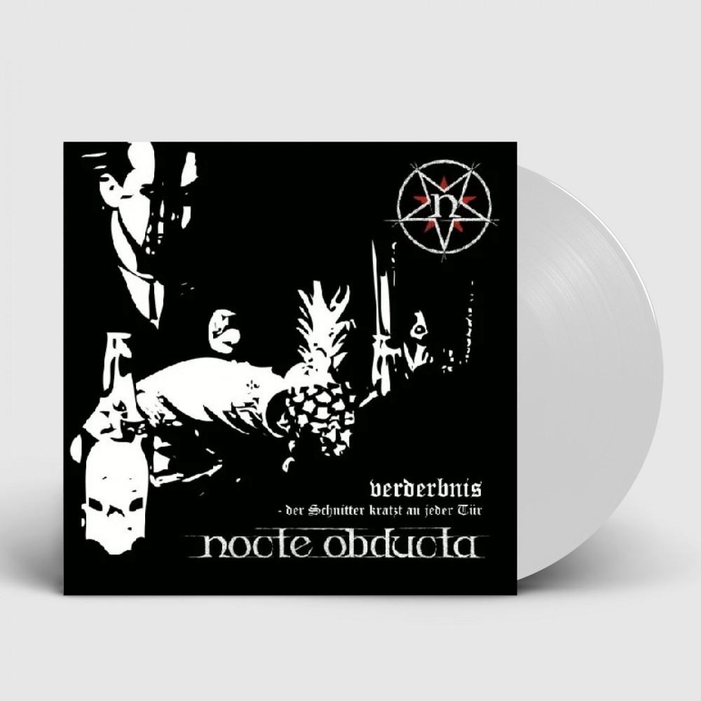 NOCTE OBDUCTA - Verderbnis (Der Schnitter Kratzt An Jeder Tür) [WHITE] (LP)