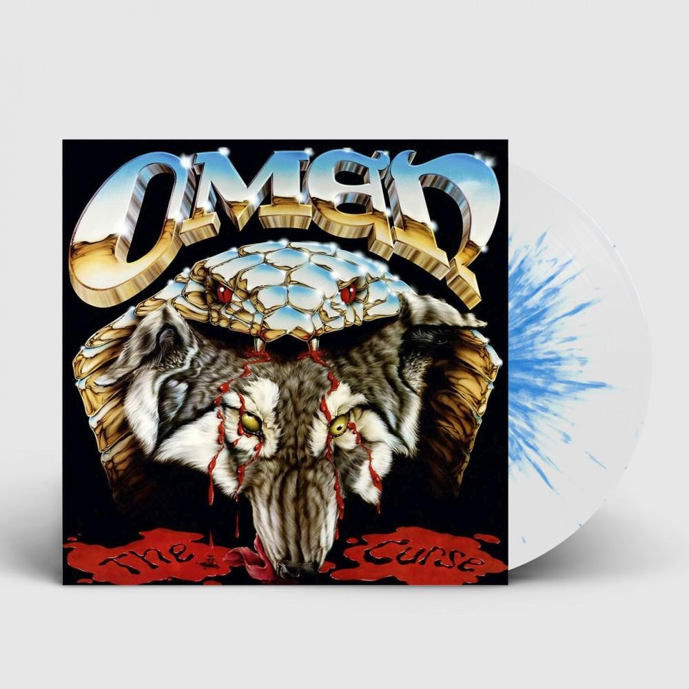 OMEN - The Curse [WHITE/BLUE] (LP)