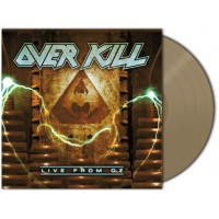 """OVERKILL - Live from Oz [RSD beige 10""""] (MLP)"""