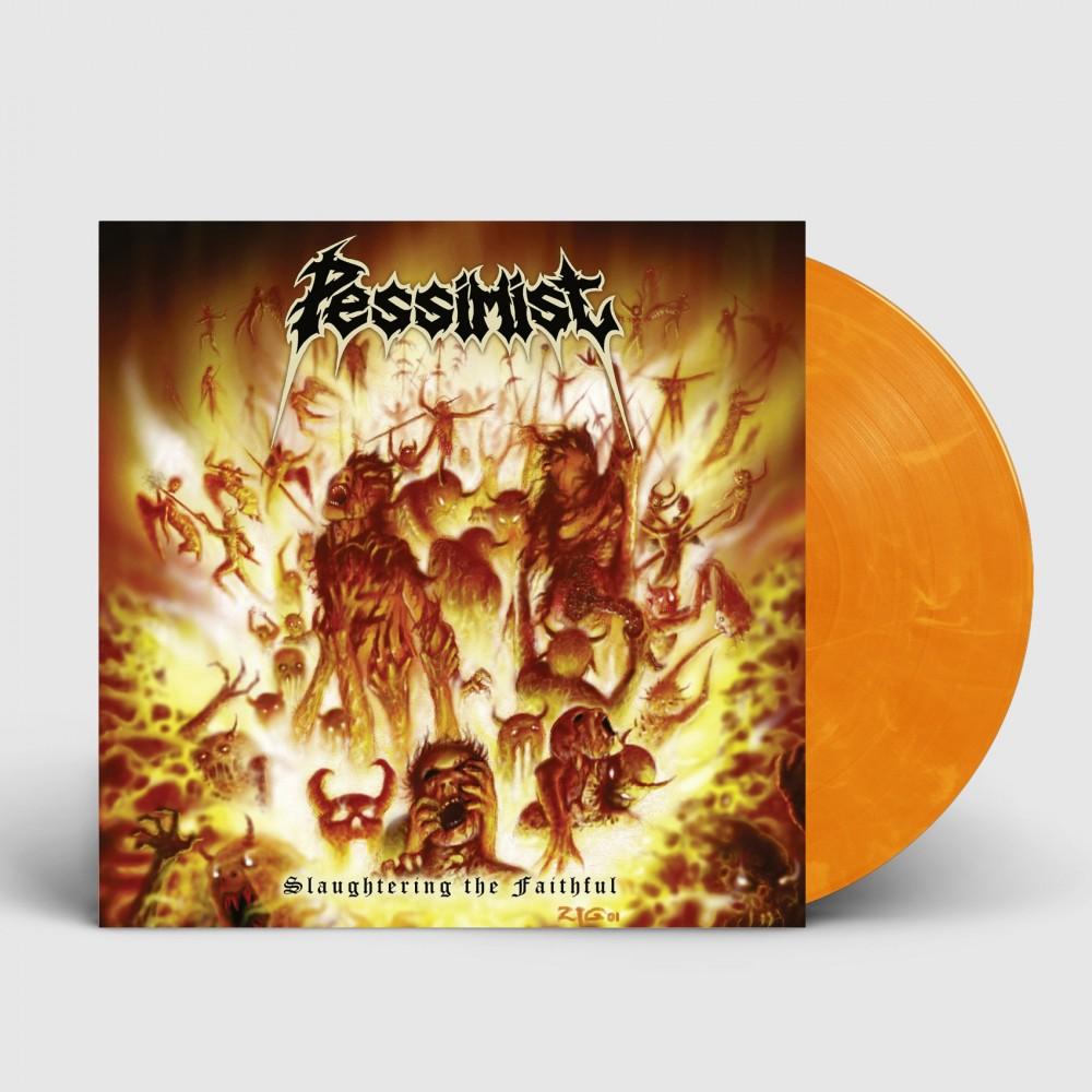 PESSIMIST - Slaughtering The Faithful [YELLOW/RED/ORANGE] (LP)