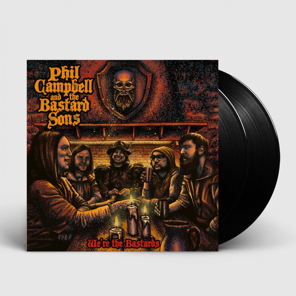 PHIL CAMPBELL AND THE BASTARD SONS - We're the bastards [BLACK] (DLP)