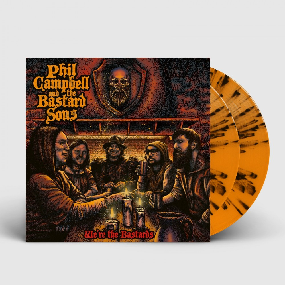 PHIL CAMPBELL AND THE BASTARD SONS - We're the bastards [ORANGE/BLACK] (DLP)