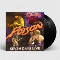 POISON - Seven Days Live [BLACK] (DLP)