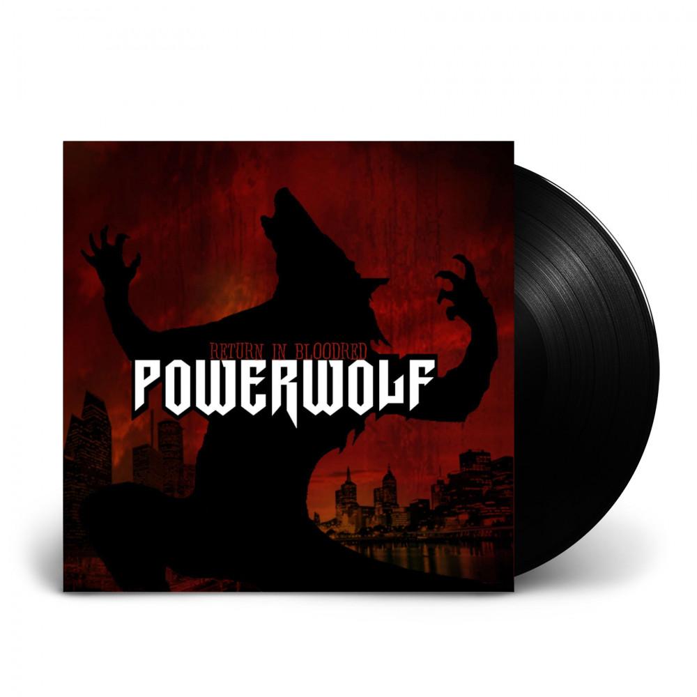 POWERWOLF - Return In Bloodred [BLACK] (LP)