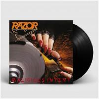 RAZOR - Malicious Intent [BLACK] (LP)