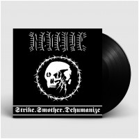 REVENGE - Strike.Smother.Dehumanize [BLACK] (LP)