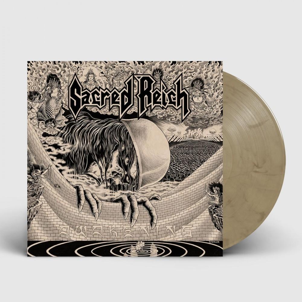 SACRED REICH - Awakening [BEIGE GREY] (LP)