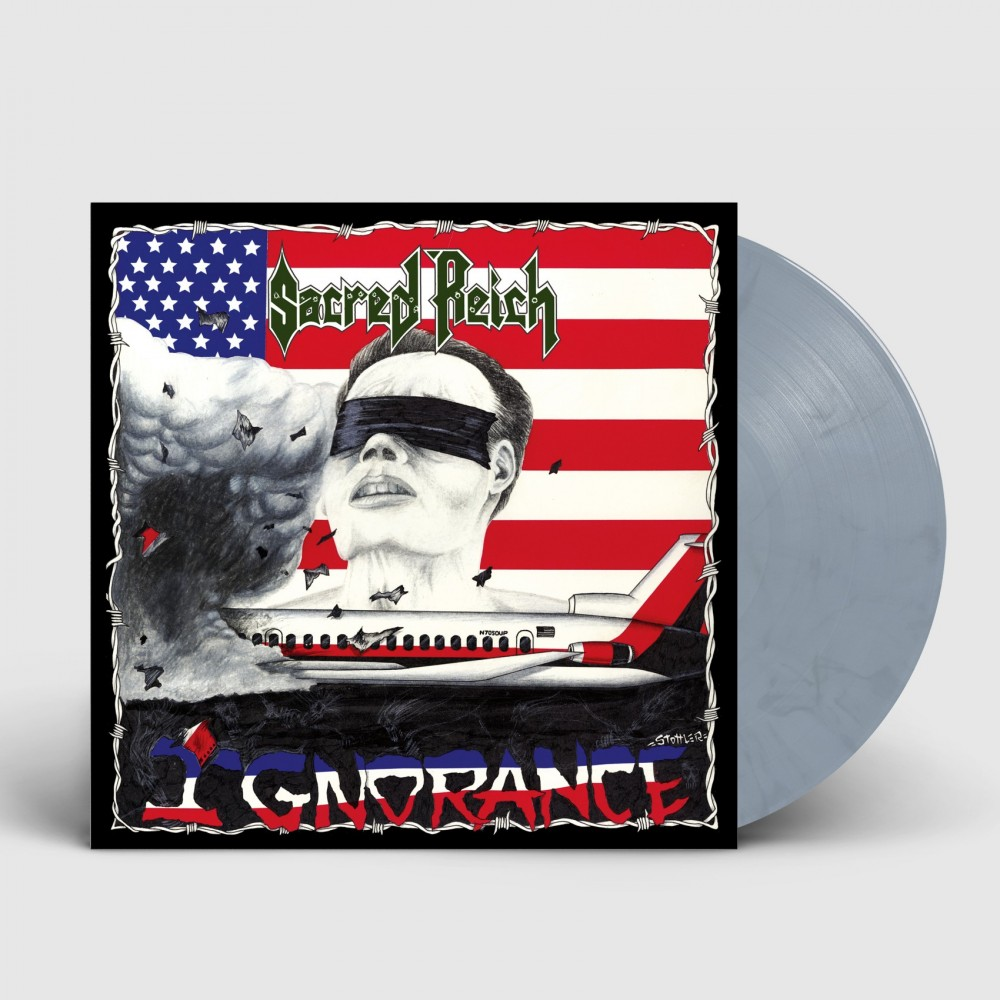 SACRED REICH - Ignorance [GREY/BLUE] (LP)