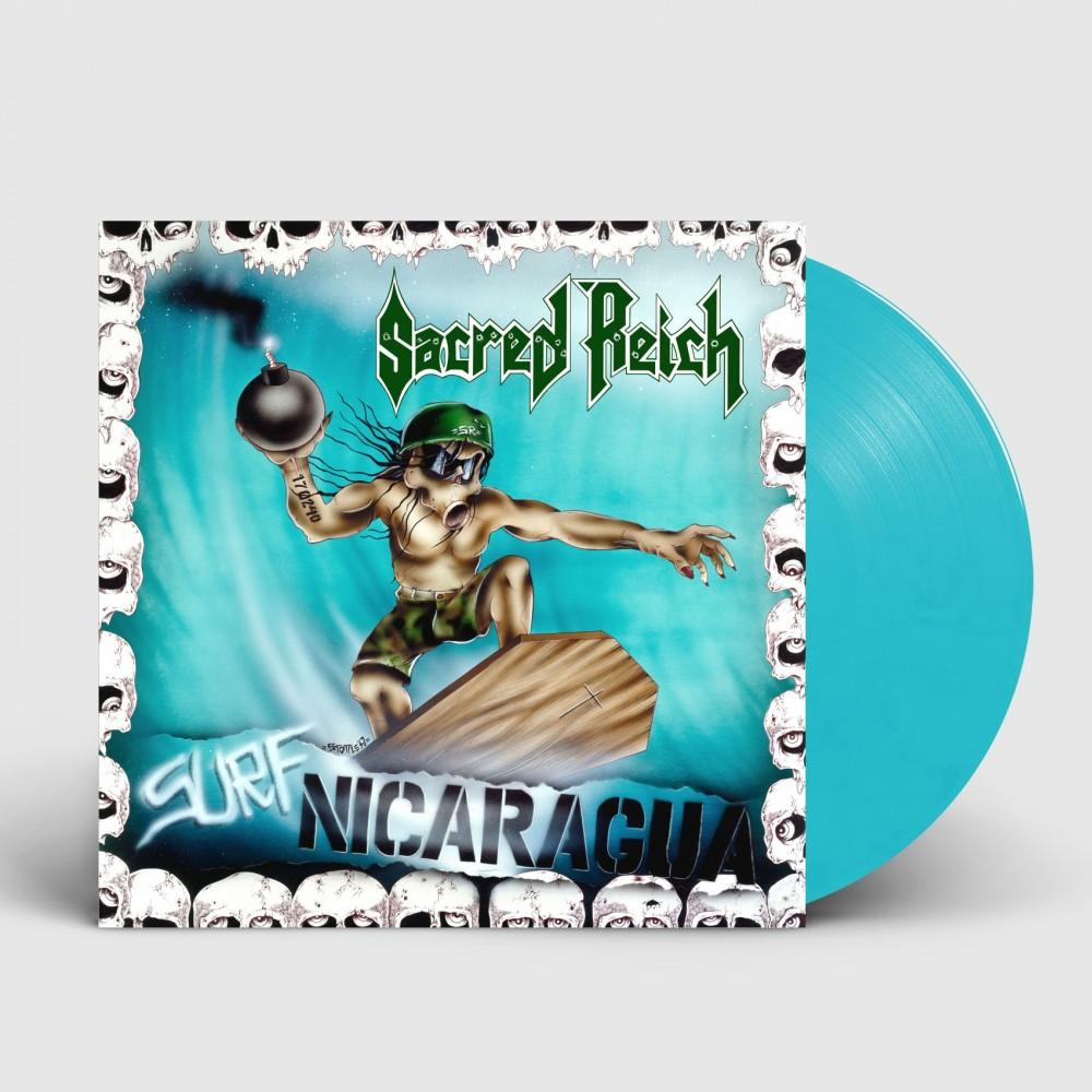 SACRED REICH - Surf Nicaragua [BAY BLUE] (LP)